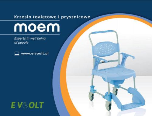 Wózek toaletowy i prysznicowy Moem